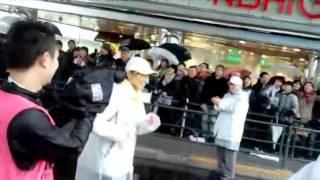 NTV:西尾アナと有楽町付近で遭遇! 顔が小さいし、美しい~♪ 沿道の声...