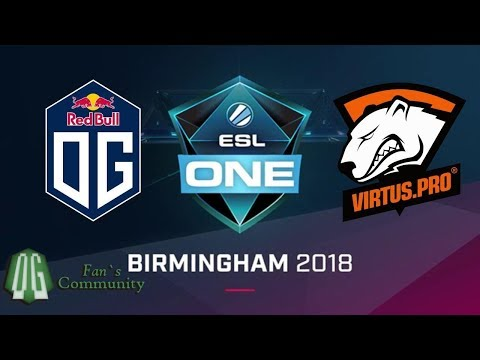 OG vs VP - Game 1 - ESL One Birmingham 2018
