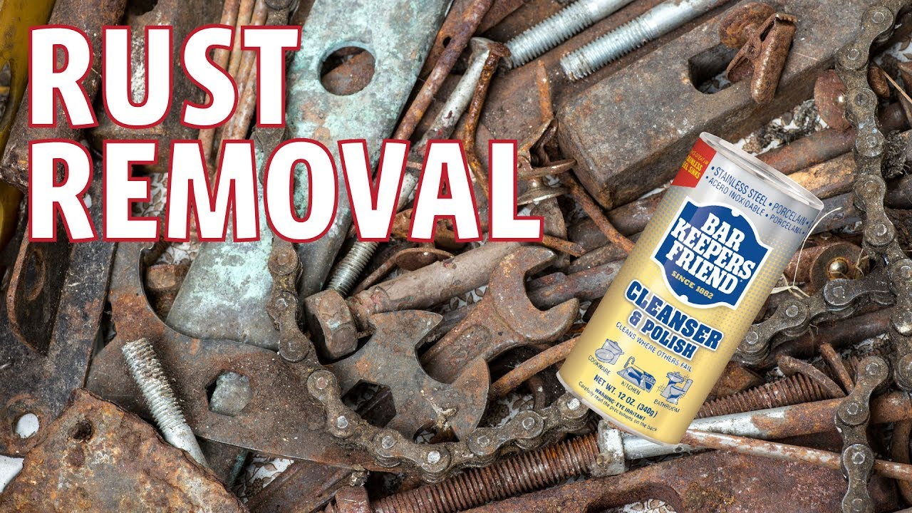 How To Remove Rust Stains   Bar Keepers Friend