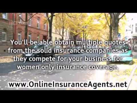 Women Only Car Insurance Savings
