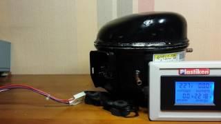 Ремонт Холодильника ТОШИБА (TOSHIBA) GR-L42(Неисправность инверторного мотора ТОШИБА DZ99Y1F-10BD. Попытка запуска и сразу же его остановка. Ремонт холодил..., 2017-01-12T06:39:40.000Z)