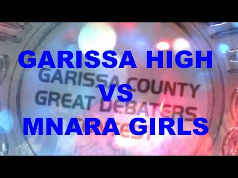 Garissa great debaters contest (GHS VS MNARA girls)