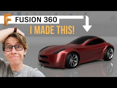 Learn Fusion 360 in Just 20 Hours (For Beginners)