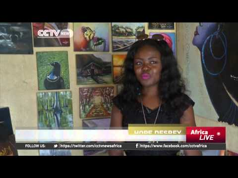 Nigerian painter using art to depict the struggle of African women