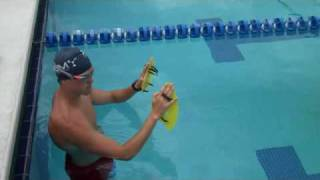 Coach Robb: Swimming: Pull Buoy + Paddles