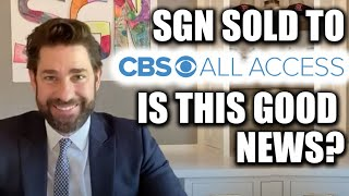 Some Good News with John Krasinski Sells to CBS!