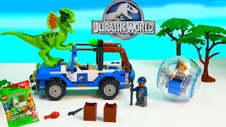 Jurassic World Movie Dinosaur LEGO Playset Surprise Blind Bag Toy Unboxing Video Review Cookieswirlc