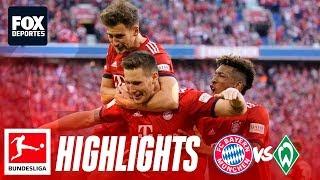 Bayern Munich 1-0 Werder Bremen | HIGHLIGHTS | Jornada 30 | Bundesliga