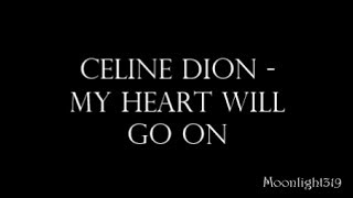 Celine Dion - My Heart Will Go On Karaoke (Piano version)
