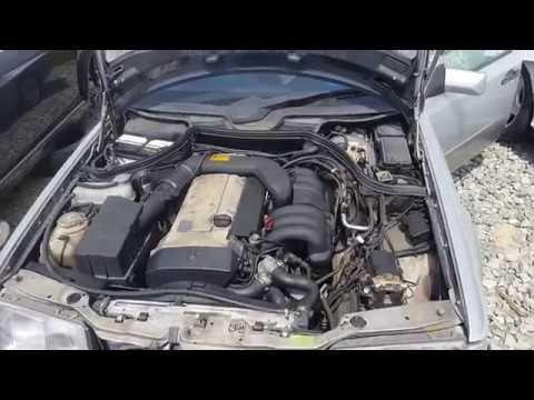 Двигатель + АКПП на Mercedes-Benz W124 E280