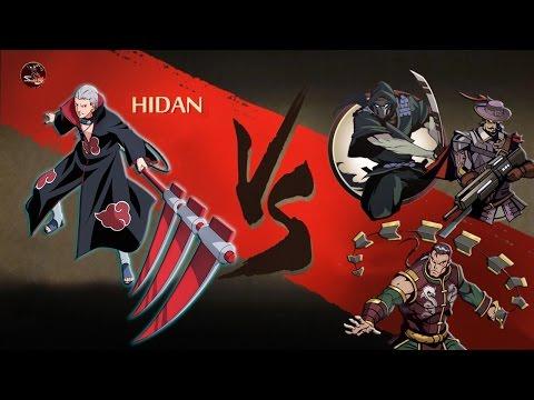 Shadow Fight 2 Hidan Vs Titan's Bodyguards