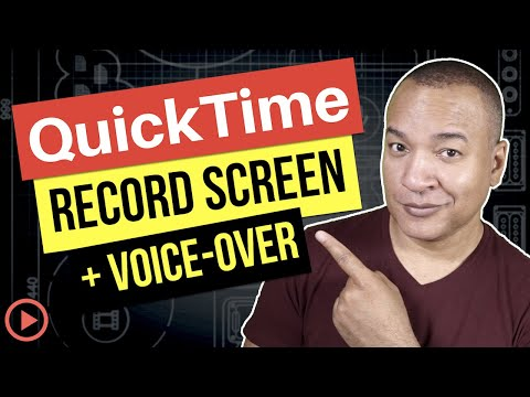 QuickTime Tutorial: How To Record Your Screen And Voice-Over (Mac)