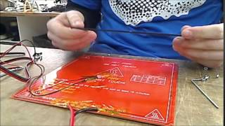 tutorial montaje cama impresora 3d psique assembly heatbed 3d printer psique steel createc 3d