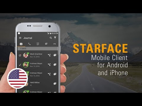 STARFACE Mobile Client for Android and iPhone
