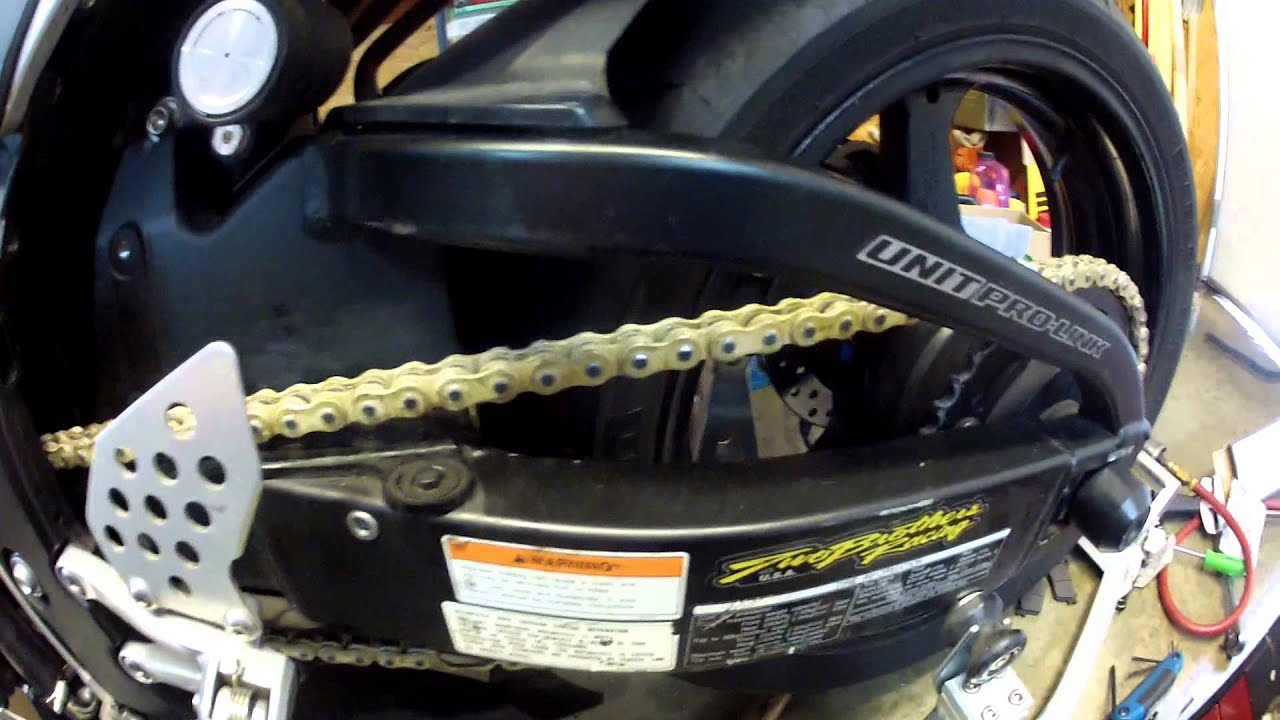 Honda Cbr600rr Chain And Sprocket Replacement