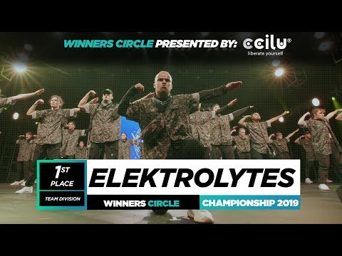 Elektrolytes  1st Place USA Team  Winners Circle  World of Dance Championship 2019  WODCHAMPS19