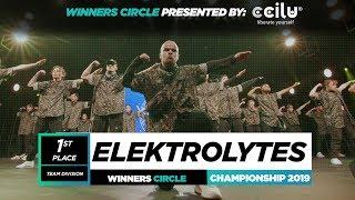 Elektrolytes   1st Place USA Team   Winners Circle   World of Dance Championship 2019   #WODCHAMPS19