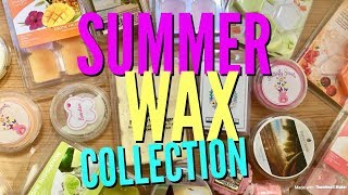 Summer Wax Collection 2018 - Including Yankee Candle, Goose Creek, Butterfly Scents & More ☀️🌸☀️