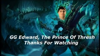 Edward The Prince Of Thresh Pro Hook Compilation - Best Thresh EU