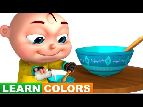 Learn Colors With Cereals | Learning Colours For Kids | Videogyan Fun Videos | Videos For Babies