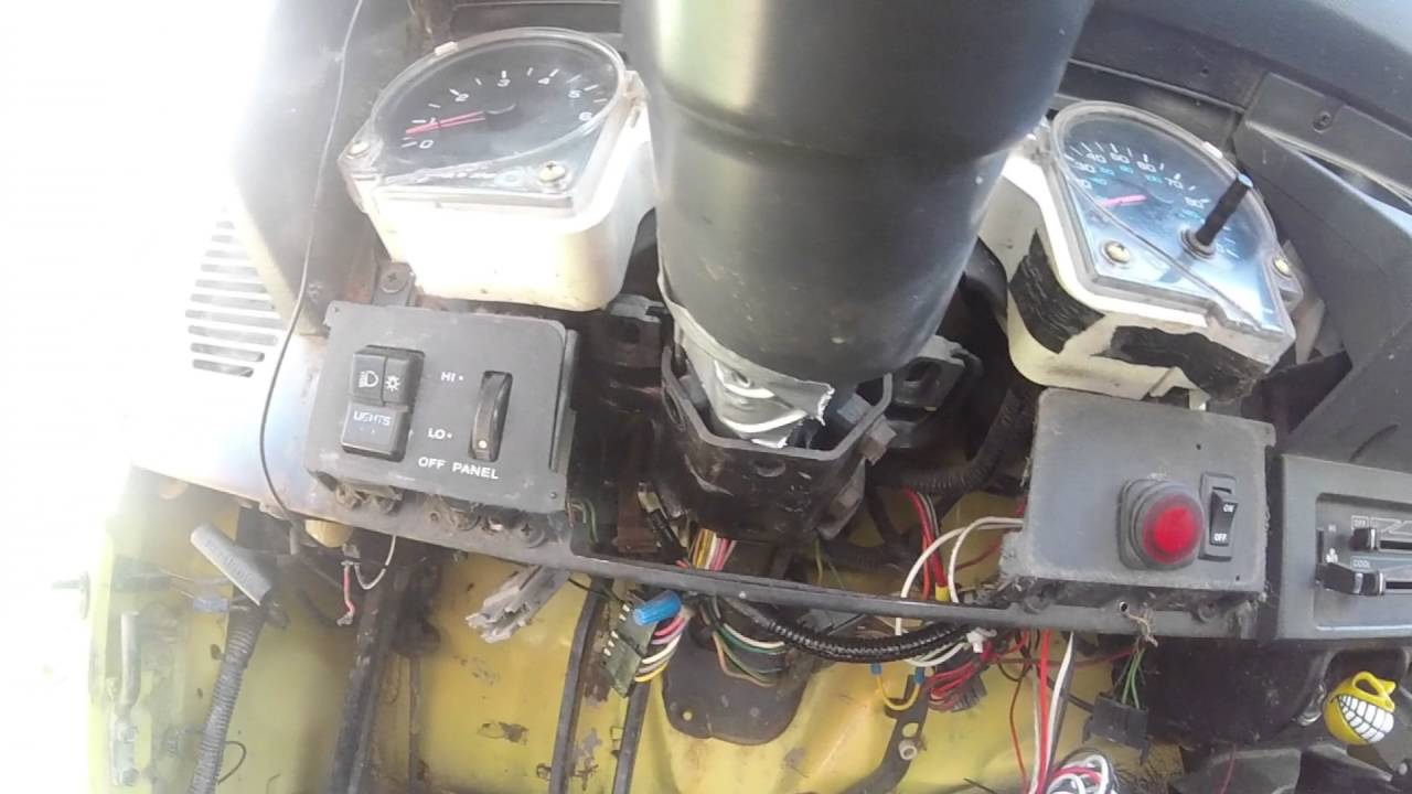 1992 Jeep Wrangler Headlight Dimmer Switch Replacement YouTube