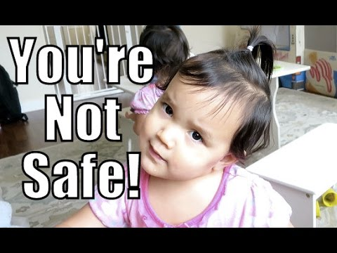 I'M NOT SAFE IN THIS HOUSE! - January 15, 2016 -  ItsJudysLife Vlogs