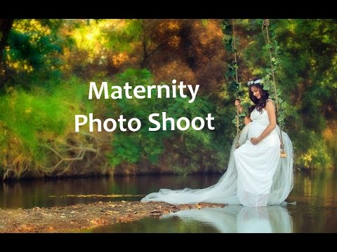 Unique maternity photo shoot ideas