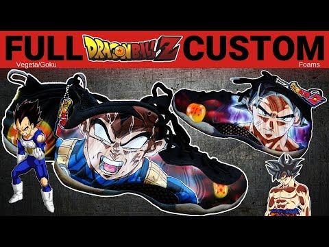 Full Custom   Ultra Instinct Dragon Ball Z Foams by Sierato