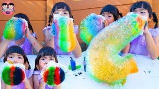 หนูยิ้มหนูแย้ม   บับเบิ้ลงวงช้างเรนโบว์ Bubble Kids Activity