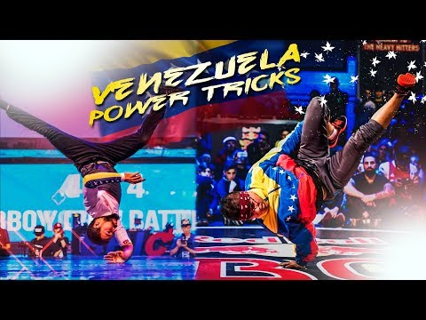 AMAZING VENEZUELA POWER TRICKS 🇻🇪 BEST BBOYS