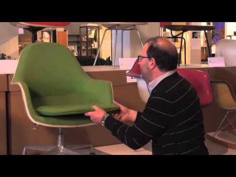 The Eames Loose Cushion Arm Chair