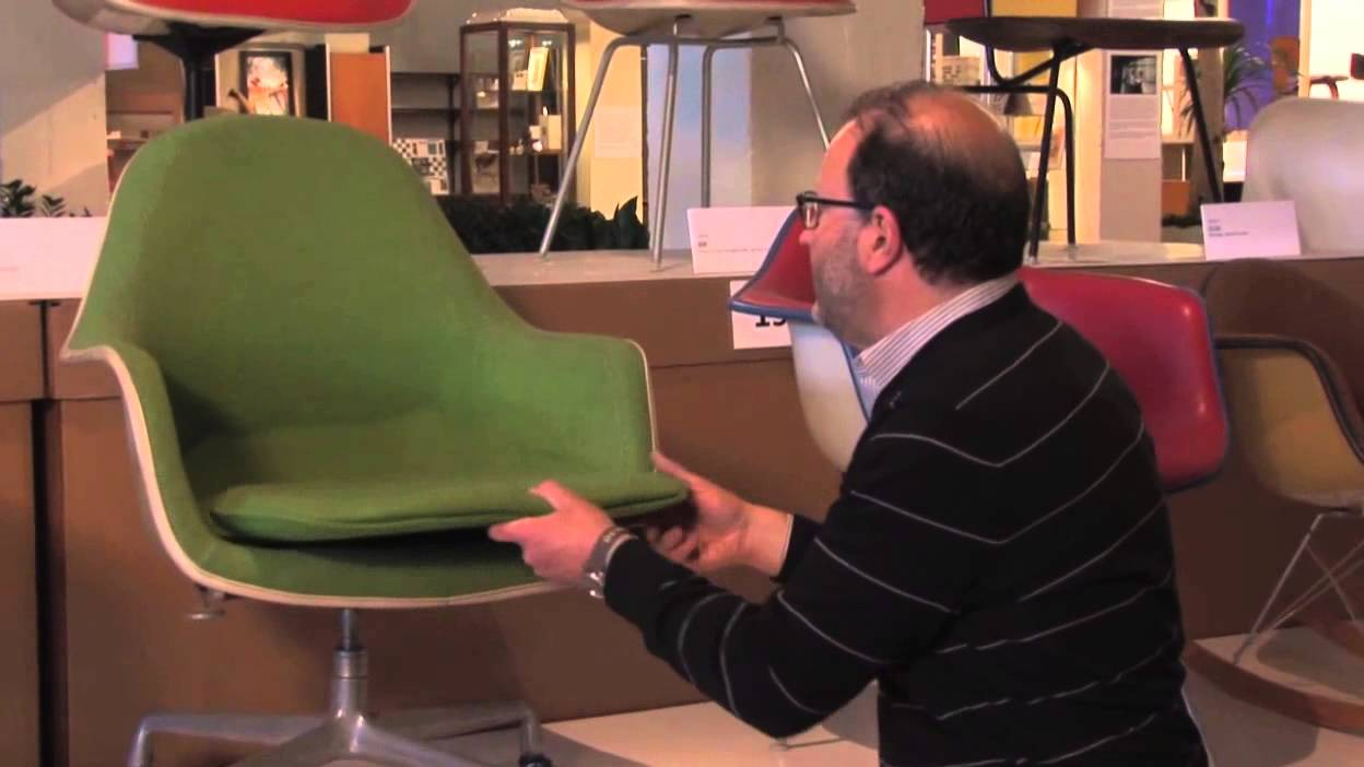 eames chair cushion office on carpet the loose arm youtube