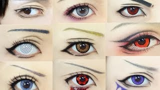 "Anime Eye 1 to 100 (`・ω・´)""☆ Thumbnail"