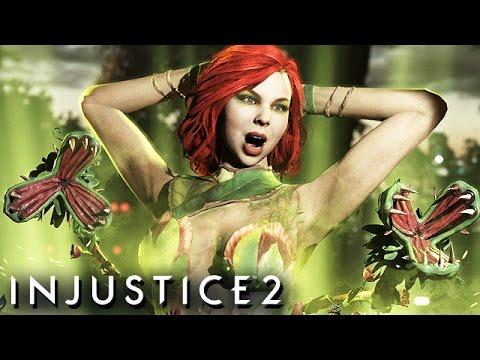 Injustice 2 Gameplay German Story Mode - Poison Ivy Und GRID