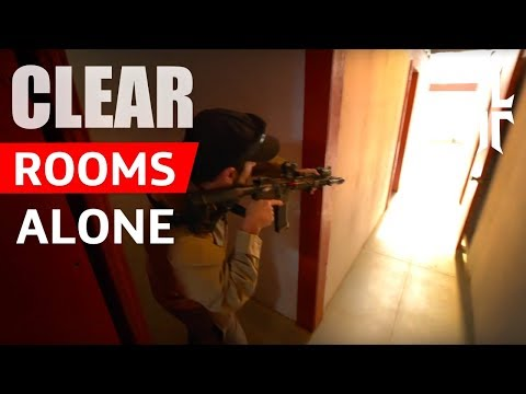 How I Clear Rooms Alone