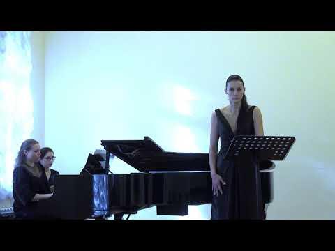 N.Medtner 7Lieder Op.46№5«Winternacht»(Eichendorf) «Зимняя ночь» Yulia Gordina,Elena Lobanova