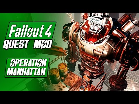 OPERATION MANHATTAN (BoS) - Fallout 4 Quest Mod - Going to New York! - Fallout 4 Mods
