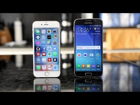 Apple iPhone 6s vs. Samsung Galaxy S6 (Deutsch)   SwagTab