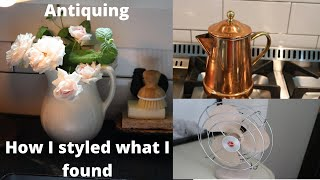 Antique Haul and designing with my finds