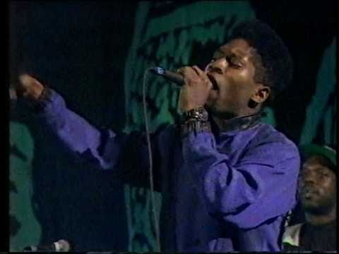 "STETSASONIC,THE JUNGLE BROTHERS & NENEH CHERRY:""AIN'T NO PEACE..."" [LIVE 1990]"