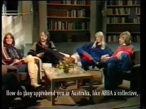 ABBA Sveriges Magasin 1977 [subtitled]