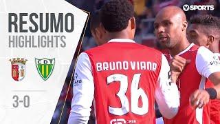Highlights | Resumo: Sp. Braga 3-0 Tondela (Liga 18/19 #29)