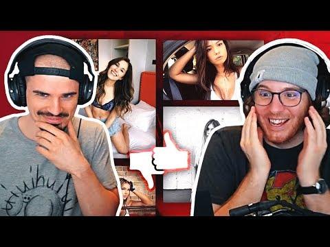 Unge & MiiMii BEWERTEN YouTuberinnen! | ungeklickt