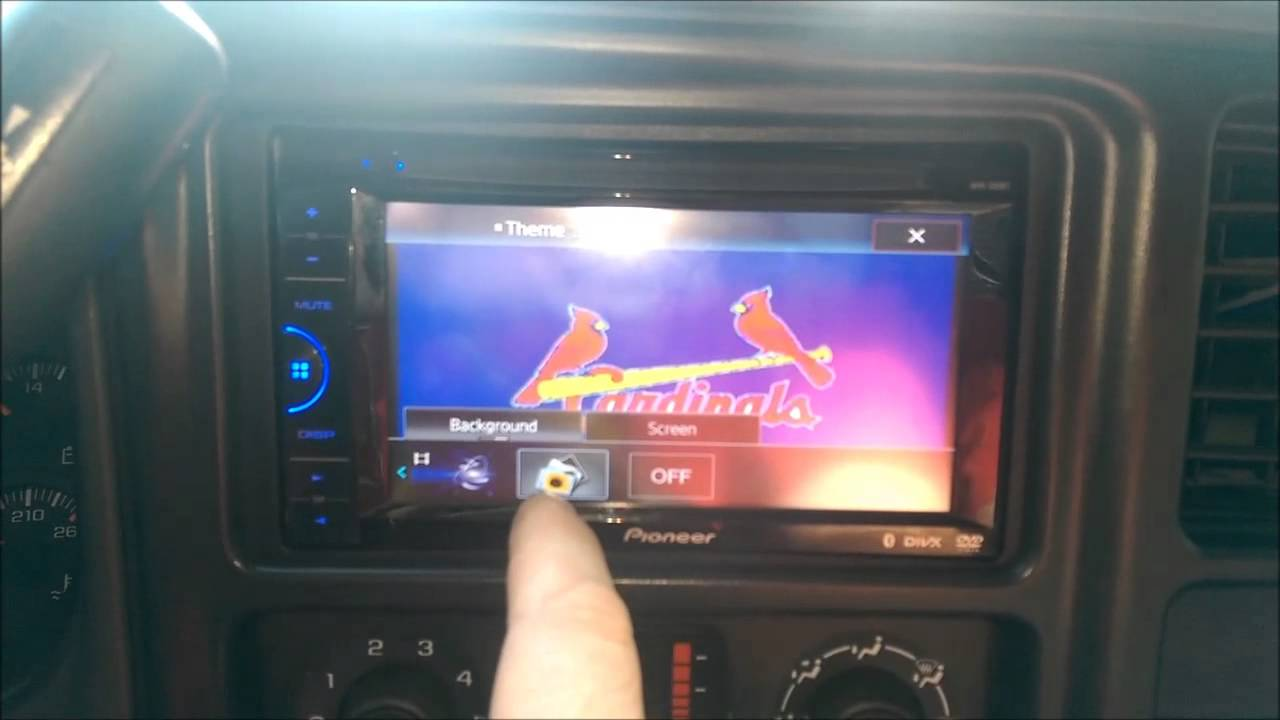 Pioneer Avh 200bt Background Image With Some Other Info Youtube Harness Diagram Wiring Avh200bt