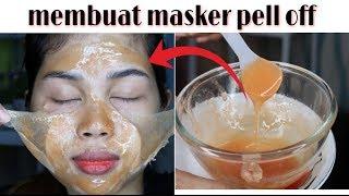 Diy Masker Pell Off   Mengangkat Komedo & Bulu Halus & Kulit Mati    Mencerahkan