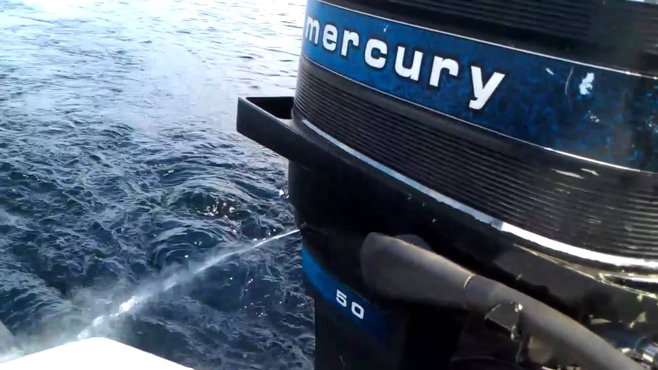 mercury 50hp 2 stroke cooling problem  [ 1280 x 720 Pixel ]