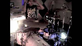 Blink 182 - Up all Night (pop-punk version New!! ) Drum Cover