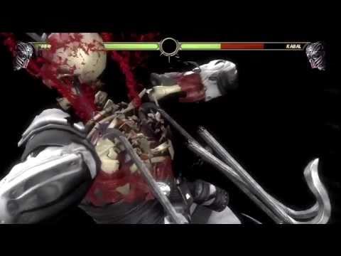 Mortal Kombat 9 - All Character X-Ray Moves HD