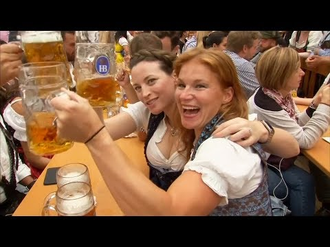 GERMANY. Traditional Costumes Take Centre Stage At Oktoberfest