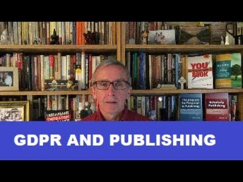 GDPR and Publishing